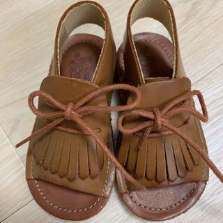 キャラメルベビー&チャイルド(Caramel baby&child )の新品young soles London サンダル 22 13cm(サンダル)