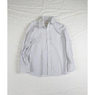 シンゾーン(Shinzone)の【SALE】 THE SHINZONE シンゾーン ストライプシャツ 36サイズ(シャツ/ブラウス(長袖/七分))