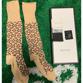 グッチ(Gucci)の美品 Gucci グッチ Dammit Cotton Pattern ソックス(ソックス)
