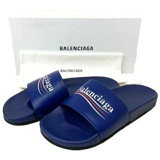 Balenciaga - BALENCIAGA レザー サンダル 42 530562 WAM00 4045