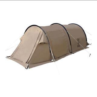 ドッペルギャンガー(DOPPELGANGER)のDOD T2-604-TN タン [カマボコテントソロTC] キャンプ 新品(テント/タープ)