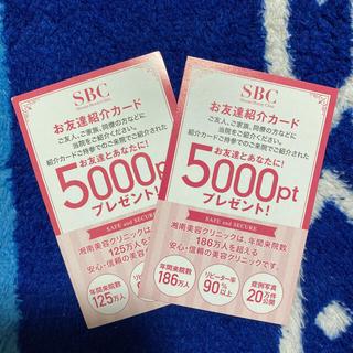 ☆プレゼント付き☆湘南美容クリニック 5000ポイントクーポン(その他)