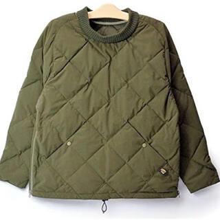 patagonia - comfy outdoor garment インナーダウン  コムフィー カーキ
