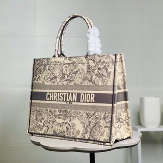 ディオール(Dior)のブックトート トワル ドゥ ジュイ エンブロイダリー(トートバッグ)