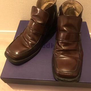 ケンゾー(KENZO)のVintage kenzo スクエアトゥ ヒールブーツ メンズ 27cm 42(ブーツ)