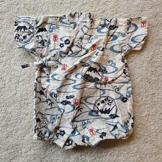 【美品】JK・ONEベビー甚平 70cm(甚平/浴衣)
