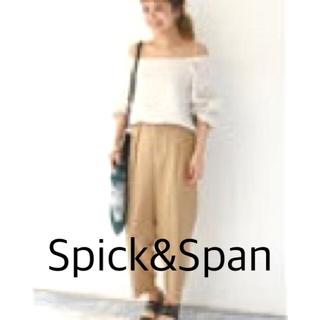 Spick and Span - ※ツレ傷あり スピックアンドスパン ブラウス+パンツ セットアップ 36