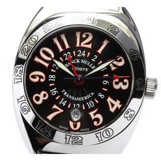 フランクミュラー(FRANCK MULLER)の☆良品 フランクミュラー トランスアメリカ ワールドワイド メンズ 【中古】(腕時計(アナログ))