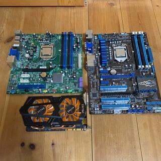 エイスース(ASUS)のジャンクパーツセット i3 GTX660ti(PCパーツ)