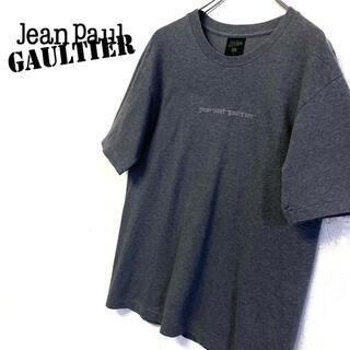 ジャンポールゴルチエ(Jean-Paul GAULTIER)の美品 Jean-Paul Gaultier  ロゴTシャツ メンズM グレー(Tシャツ/カットソー(半袖/袖なし))