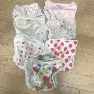 ニシキベビー(Nishiki Baby)のused オムツカバー 80サイズ 11キロ 7枚(ベビーおむつカバー)