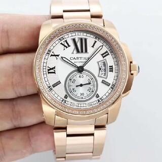 ♫限時で値下♫美品♫カルティエ-♫メンズ♫#腕時計#♫