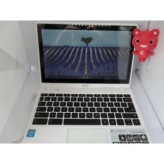 エイサー(Acer)の美品快速!ACER CHROMEBOOK タッチパネル対応(ノートPC)