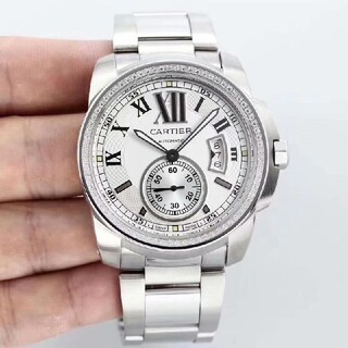 ♫限時で値下♫美品♫カルティエ-♫メンズ♫#腕時計#♫5