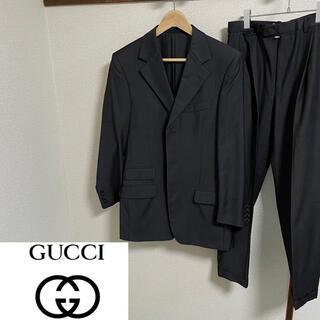 グッチ(Gucci)の【GUCCI】グッチ ウール セットアップ スーツ ジャケット パンツ(セットアップ)