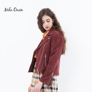 ミラオーウェン(Mila Owen)のMilaOwen ミラオーウェンベーシックダブルライダースジャケット 完売(ライダースジャケット)