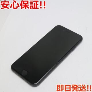 アイフォーン(iPhone)の美品 au iPhone8 64GB スペースグレイ ブラック (スマートフォン本体)