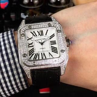 ♫限時で値下♫美品♫カルティエ-♫メンズ♫#腕時計#♫12