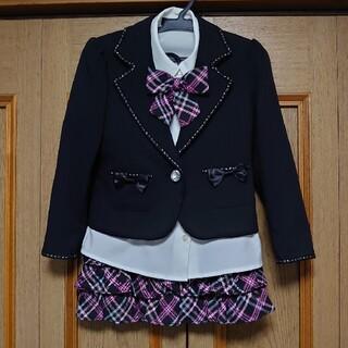 ヒロミチナカノ(HIROMICHI NAKANO)のヒロミチナカノ☆入学式☆フォーマルスーツ☆120(ドレス/フォーマル)