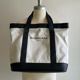 Balenciaga - BALENCIAGA キャンバス トート トートバッグ ホワイト