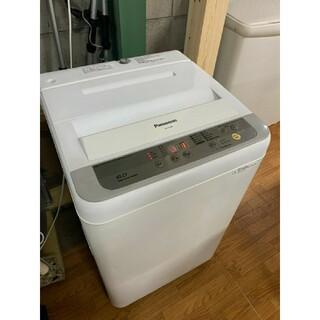 パナソニック(Panasonic)の(洗浄済)パナソニック:洗濯機 6kg 2016年製 【名古屋市内配送無料】(洗濯機)