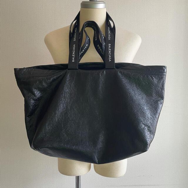 Balenciaga(バレンシアガ)のBALENCIAGA 2WAY トートバッグ ブラック メンズのバッグ(トートバッグ)の商品写真