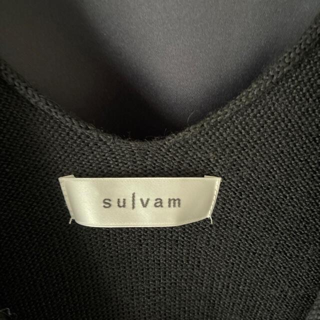 JOHN LAWRENCE SULLIVAN(ジョンローレンスサリバン)のsulvam ニット メンズのトップス(ニット/セーター)の商品写真