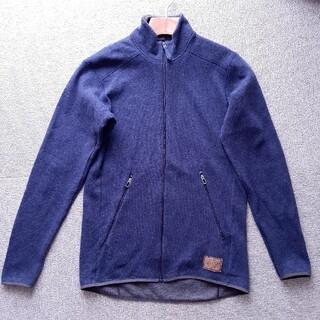 ホグロフス(Haglofs)のホグロフス HAGLOFS WOOL jacket  Msize(登山用品)