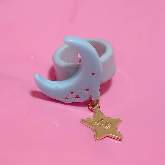 Angelic Pretty(アンジェリックプリティー)のMilky Melty Moonリング レディースのアクセサリー(リング(指輪))の商品写真