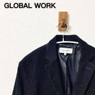 グローバルワーク(GLOBAL WORK)のグローバルワーク コーデュロイテーラードジャケットジャケット(テーラードジャケット)