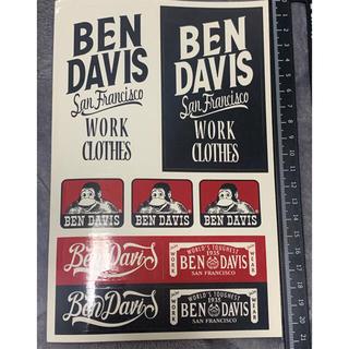 ベンデイビス(BEN DAVIS)のBENDAVIS 3枚セット(ステッカー)