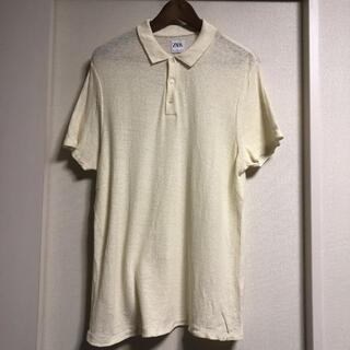 ザラ(ZARA)のZARA 襟付き半袖シャツ メンズ(ポロシャツ)