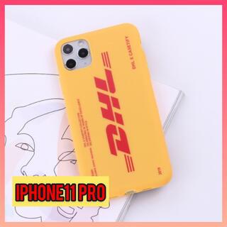 iPhone11pro アイフォンケース 大人気ロゴ入り 2色展開 ロゴ(iPhoneケース)