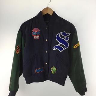 STUSSY - 激レア!90's stussy スタジアムジャンパー