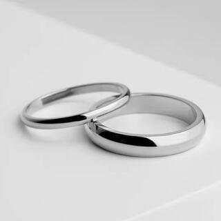 ペアリング ステンレスリング ステンレス指輪 ピンキーリング シルバー(リング(指輪))