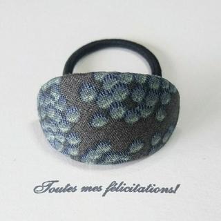 mina perhonen - very berry チャコール ヘアゴム ミナペルホネン