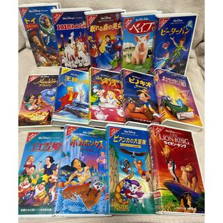 ディズニー(Disney)の【大幅値下げ】ディズニービデオテープ VHS(その他)