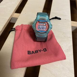 ベビージー(Baby-G)のBaby-G  ブルー×ピンク(腕時計)
