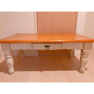 アクタス(ACTUS)のシャビーシック テーブル フレンチカントリー アンティーク ヴィンテージ(ダイニングテーブル)