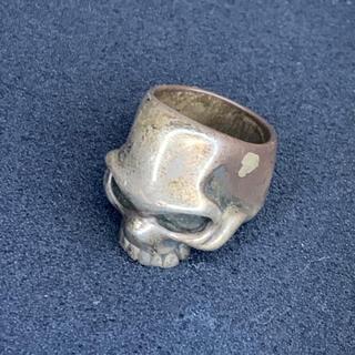 ガルニ(GARNI)のアンティーク品!ガルニ GARNI スカル ドクロ 指輪 リング 17号(リング(指輪))