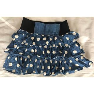 美品 デニムスカート 140cm(スカート)