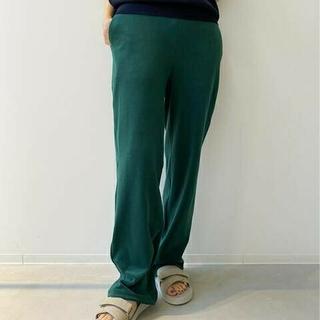 アパルトモンドゥーズィエムクラス(L'Appartement DEUXIEME CLASSE)の新品タグ付【AMERICANA/アメリカーナ】Pile Relax PANTS(カジュアルパンツ)