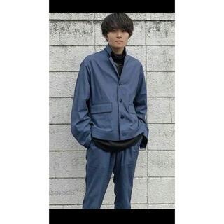 SUNSEA - URU cotton short jarket/pants セットアップ
