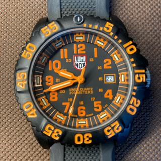 ルミノックス(Luminox)のLUMINOX ルミノックス 3050 オレンジ デイト(腕時計(アナログ))