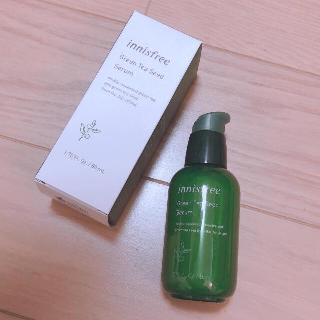 Innisfree(イニスフリー)のグリーンティーシードセラム コスメ/美容のスキンケア/基礎化粧品(ブースター/導入液)の商品写真
