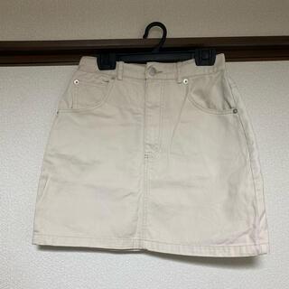 スピンズ(SPINNS)のミニスカート 台形スカート デニムスカート(ミニスカート)