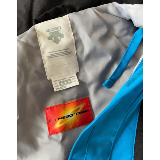DESCENTE(デサント)のデサント キッズ スキーウェア 上下90 スポーツ/アウトドアのスキー(ウエア)の商品写真