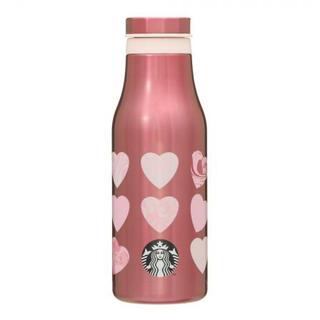 スターバックスコーヒー(Starbucks Coffee)のスターバックス スタバ バレンタイン 2021 ステンレスボトル マーブルハート(タンブラー)