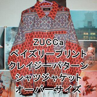 ZUCCa/ズッカ/ペイズリープリント/シャツジャケット(その他)