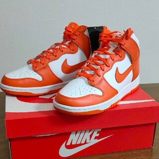 NIKE DUNK HIGH ORANGE BLAZE 27.5cm 新品未使用(スニーカー)